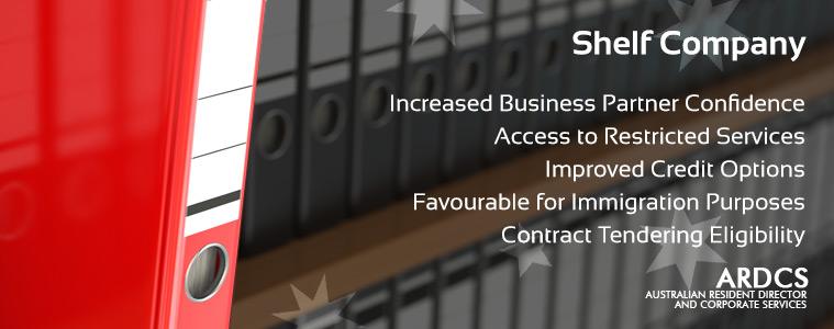 Australian Shelf Company - Pre-registered, aged companies on sale - Buy Now