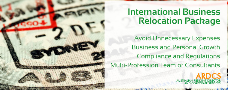 International Business Relocation Package